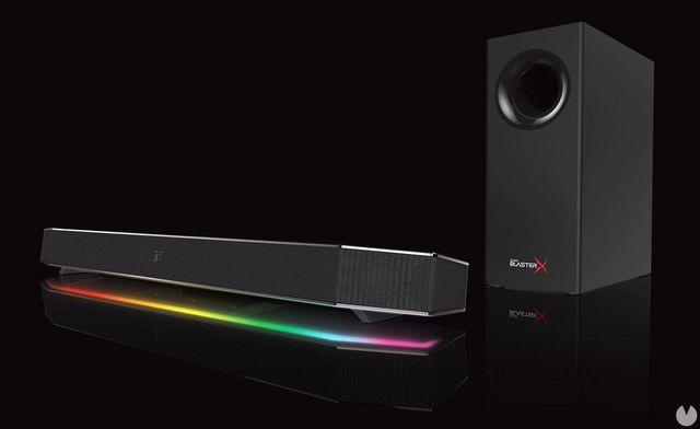 Creative announces the making the sale of your surround sound system Sound BlasterX Katana