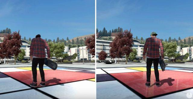 Compare Skate 3 on Xbox One X and Xbox One S