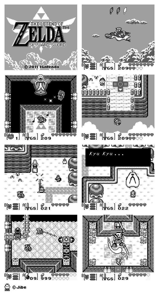 The Legend of Zelda: Skyward Sword en Game Boy