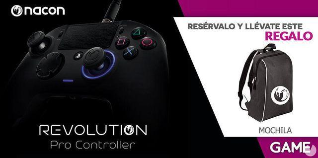GAME announces pre-order incentives for the control Revolution Pro of Nacon for PS4