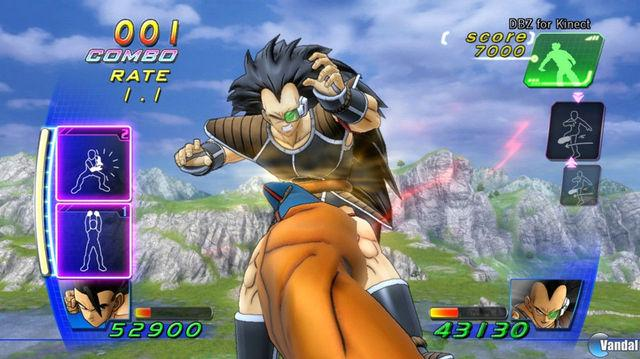 Dragon Ball Z para Kinect