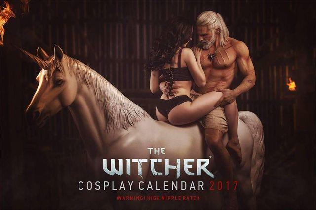 you can Already book The Witcher Cosplay Calendar 2017