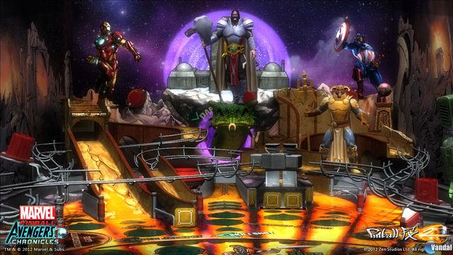 Marvel Pinball Avengers Chronicles PSN