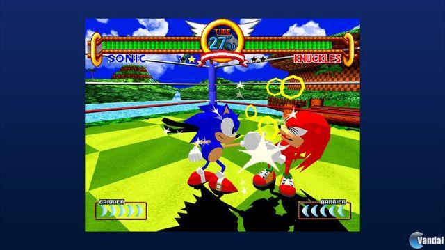 Sonic the Fighters PSN