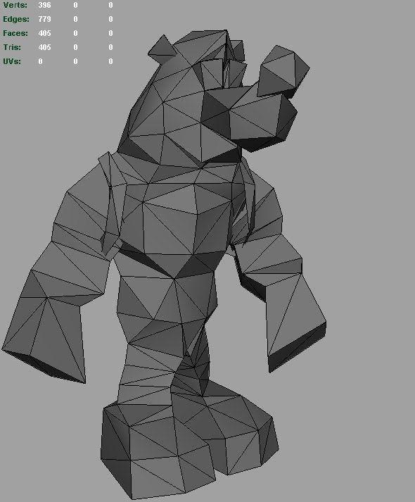 Entre polígonos: La evolución de los modelos poligonales