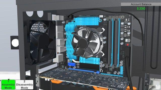 PC Building Simulator you will have your own computer shop