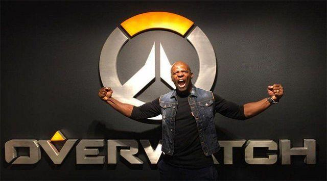 The actor Terry Crews is grateful for the support of the community of Overwatch