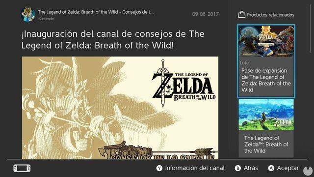 Nintendo launches the news channel of Zelda in Nintendo Switch