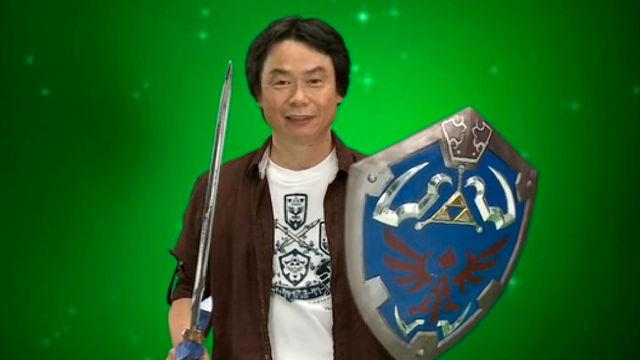 Miyamoto prepara juegos que 'cambiarán su estilo' para Wii U