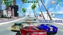 Pantalla Asphalt 4 Elite Racing DSiWare
