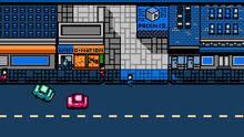 Pantalla Retro City Rampage WiiW