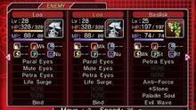 Pantalla Shin Megami Tensei: Devil Survivor Overclocked