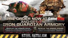 Pantalla Steel Battalion: Heavy Armor