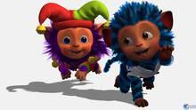 Pantalla EyePet y sus amigos
