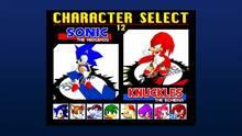 Pantalla Sonic the Fighters PSN
