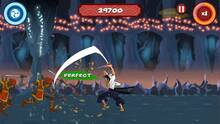 Pantalla Samurai Beatdown