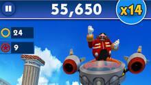 Pantalla Sonic Dash