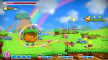 Pantalla Kirby y el Pincel Arcoíris