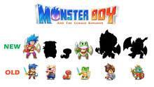 Pantalla Monster Boy and the Cursed Kingdom