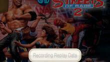 Pantalla 3D Streets of Rage II eShop