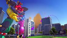 Pantalla 100ft Robot Golf