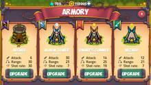 Pantalla Tower Defense - Fantasy Legends Tower Game