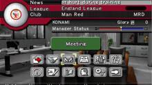 Pantalla Pro Evolution Soccer Management