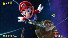 Pantalla Super Mario Galaxy