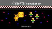 Pantalla Freddy Fazbear's Pizzeria Simulator