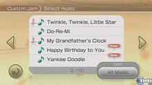 Pantalla Wii Music