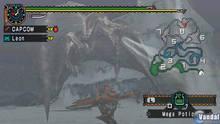 Pantalla Monster Hunter Freedom Unite