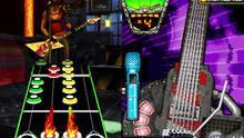 Pantalla Guitar Hero Modern Hits