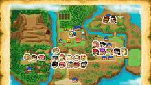 Pantalla Harvest Moon: Island of Happiness