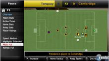 Pantalla Football Manager Handheld 2009