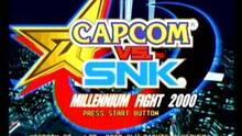 Pantalla Capcom vs SNK