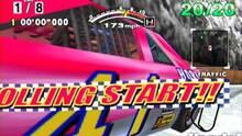 Pantalla Daytona USA 2001