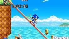 Pantalla Sonic Advance