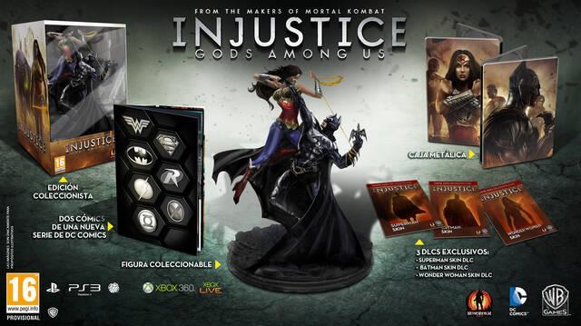 Injustice: Gods Among Us se pondrá a la venta el 19 de abril