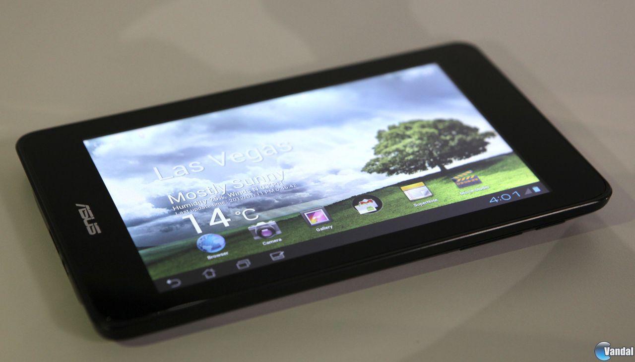 Asus y Nvidia triunfan en el CES con su tableta