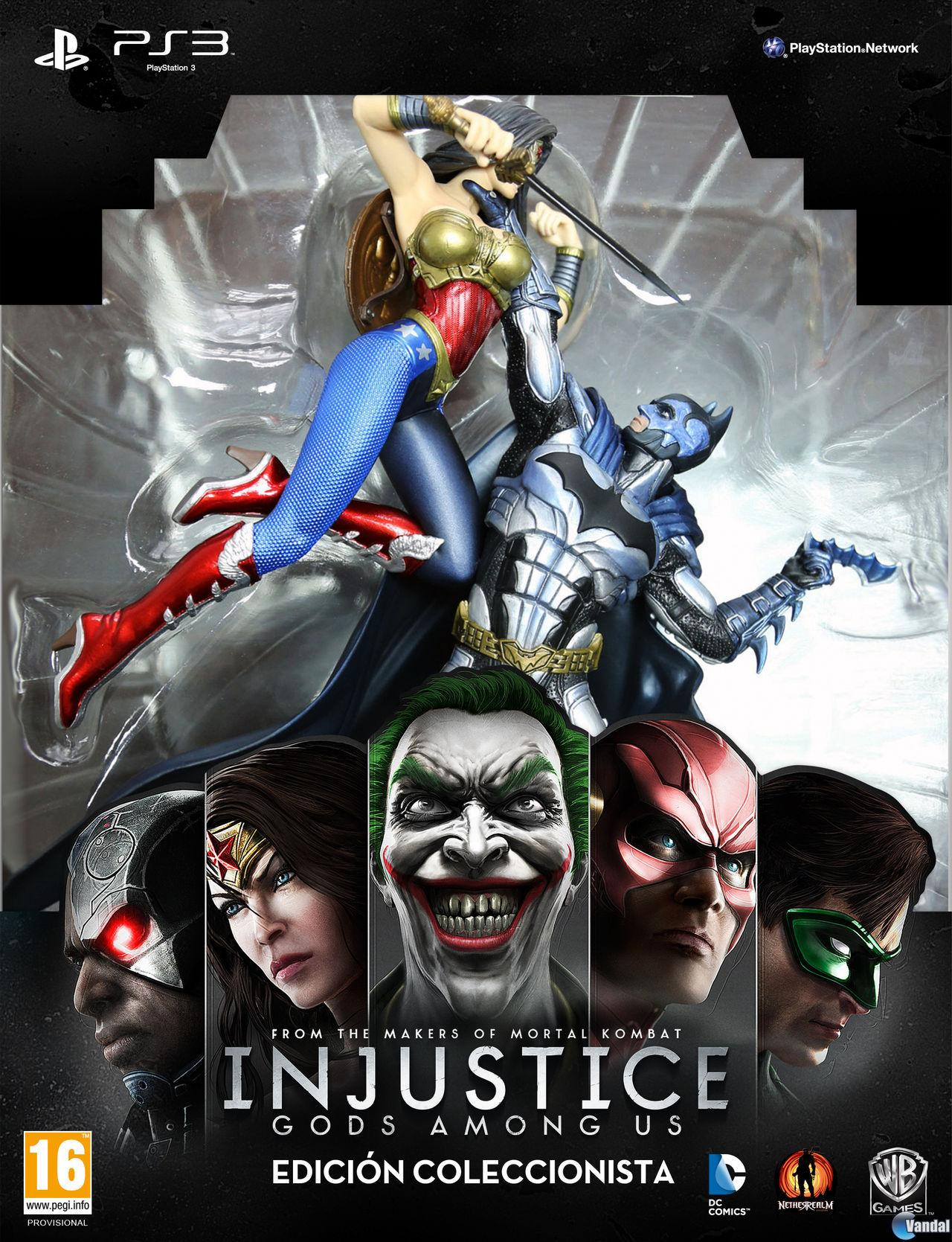 Injustice: Gods Among Us se pondr� a la venta el 19 de abril