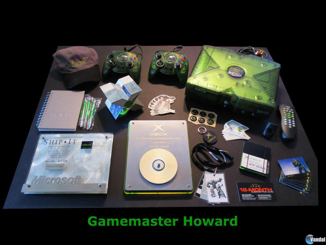 Una Xbox exclusiva del equipo de lanzamiento de Microsoft, en eBay