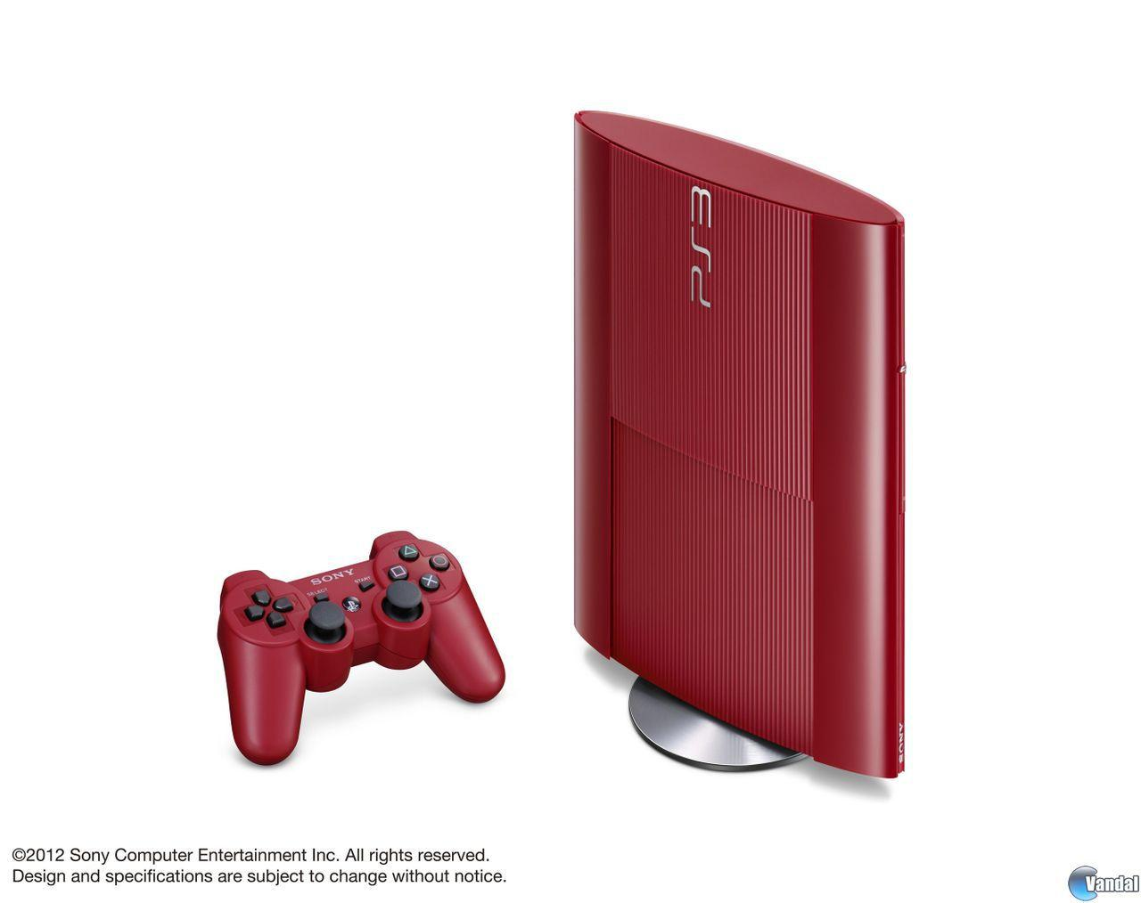 Las PS3 roja y azul llegarn a Europa