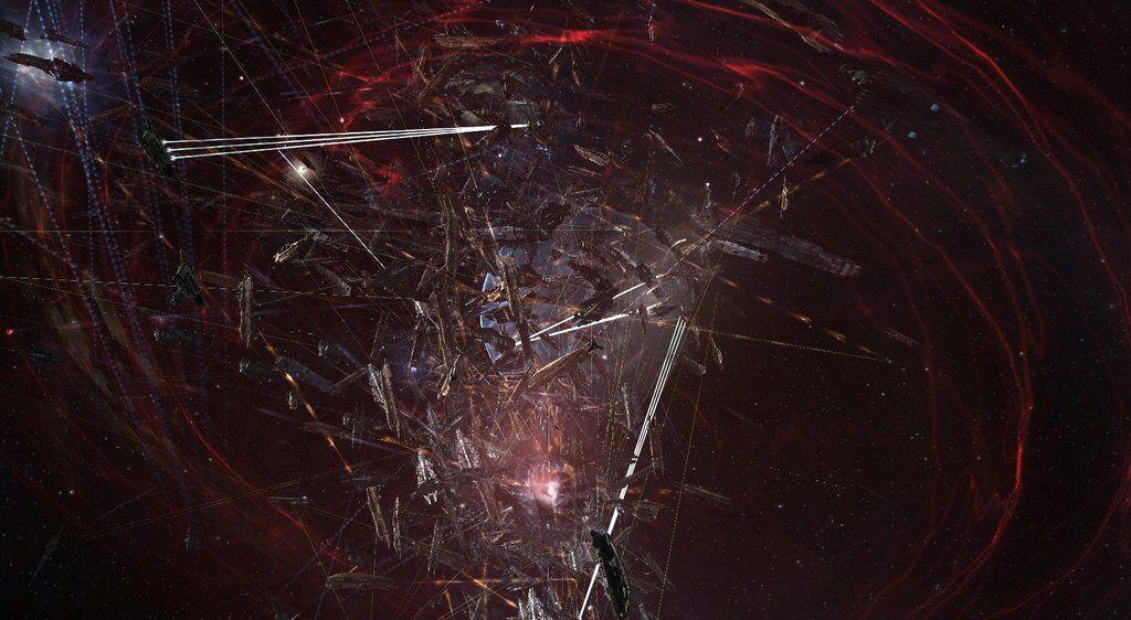 Eve Online experimenta una batalla de más de 2.800 jugadores
