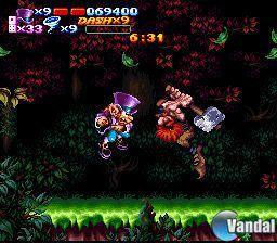 Nightmare Busters, un nuevo juego para SNES