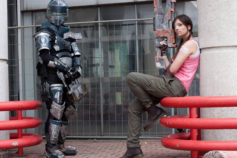 Crean un sorprendente 'cosplay' de Dead Space 
