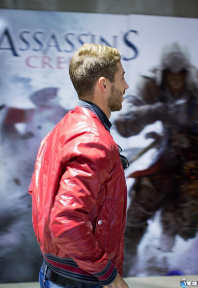 Sergio Ramos se une a la rebeli�n de Assassin's Creed III