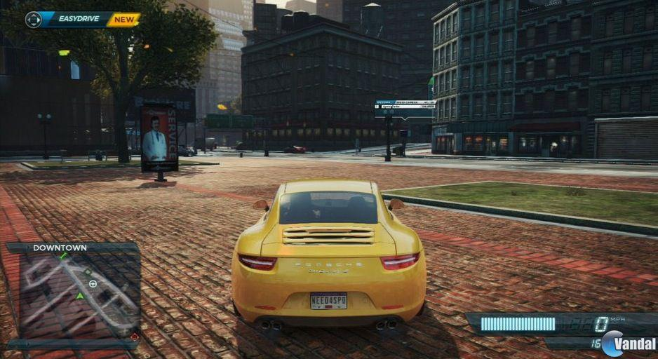 Comparativa grfica de Need for Speed: Most Wanted en PS Vita y Xbox 360