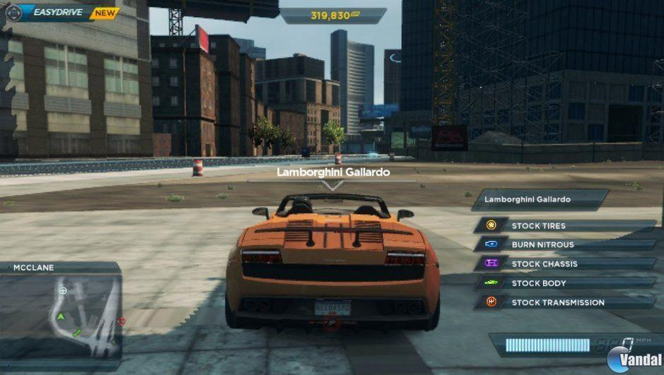 Comparativa gr�fica de Need for Speed: Most Wanted en PS Vita y Xbox 360