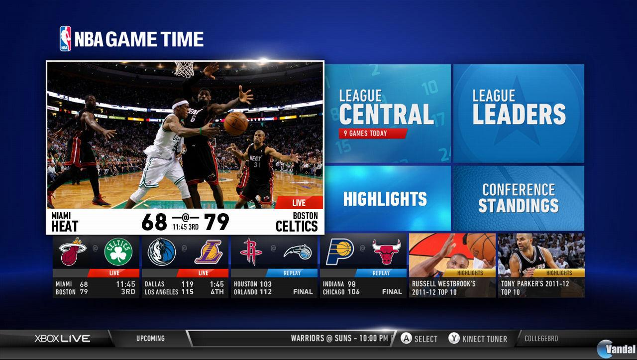 Gol Televisi�n, NBA Game Time y Wall Street Journal llegan a Xbox Live
