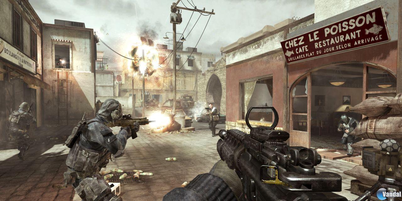 Nuevos detalles del multijugador de Call of Duty MW3